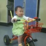 お客様からのお便り ☆☆ お気に入りの三輪車