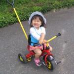 お客様からのお便り ☆☆ 三輪車でお出かけ大好き♪