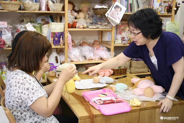 130829ウォルドルフ人形赤ちゃん講習会2日目③