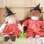 ハロウィンのウォルドルフ人形