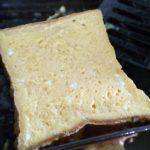 休みの朝は、パパが焼くフレンチトースト