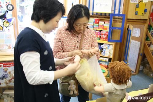 ウォルドルフ人形同窓会展1日目_01