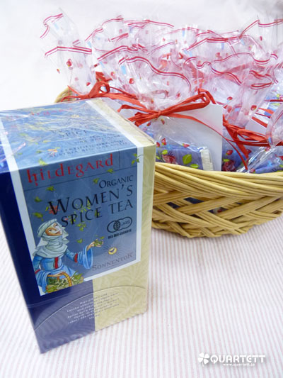 母の日ハーブティ2Pプレゼント