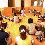 紀子先生のベビーマッサージ@名古屋市北区大和保育園さん