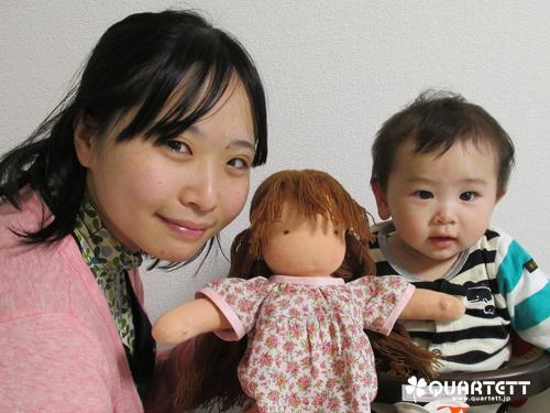 お人形さくらちゃんと01