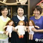 5月のウォルドルフ人形教室 2日目