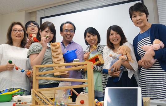 ベビートイインストラクター2級講座@銀座校