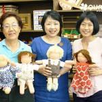 7月のウォルドルフ人形教室 2日目