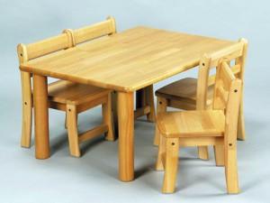 保育用テーブル、椅子