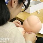 4月のウォルドルフ人形教室 2日目