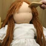 かわいいウォルドルフ人形用のくし、出来上がりましたっ!(^^)!