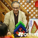 積木博士によるネフの積木ショーを開催