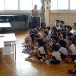 二本木幼稚園で ネフの積木を使っての講義開講