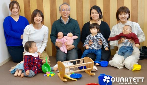 カルテット幼児教室@武蔵小金井校180115よちとこ