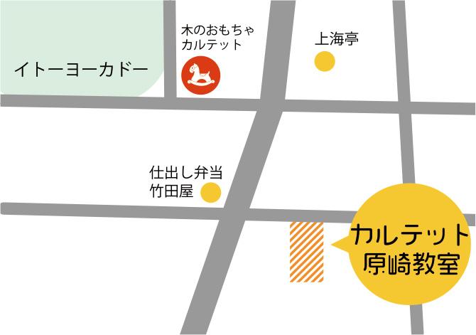 原崎の地図
