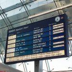 フランクフルトでドイツ鉄道に乗り遅れる
