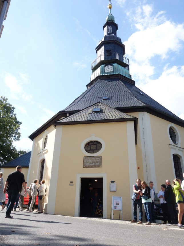 seiffen kirche ザイフェン丘の教会