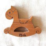 ありがとう15周年! こだわりの木馬のマスコットを記念品として限定販売します(^^)!