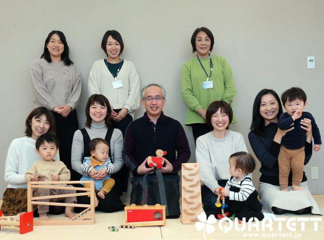 6ヶ月から絵本と玩具とわらべうたを学ぶカルテット幼児教室