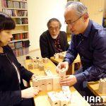 キュボロって 全てがプログラミングなんだよね 東京大学名誉教授 汐見稔幸先生にキュボロレッスンを体験していただきました!