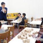 初の平日開講!2月14日(金)キュボロ教室体験レッスンを開講しました!