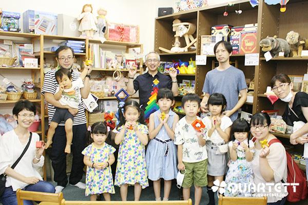 7/18(土)積木ショー 集合写真