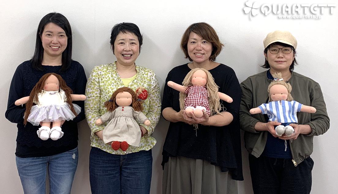 ウォルドルフ人形教室1