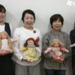 ウォルドルフ人形教室2日目♪