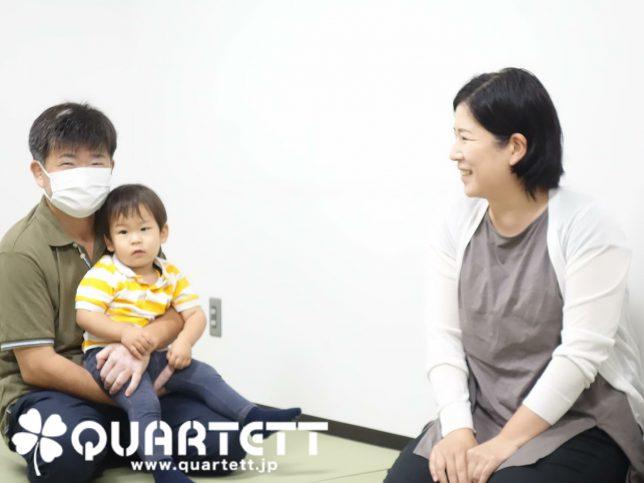 親子の笑顔_カルテット幼児教室