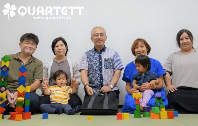 生徒の笑顔_カルテット幼児教室