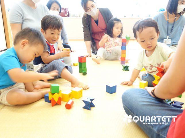 積み木遊び‗幼児教室