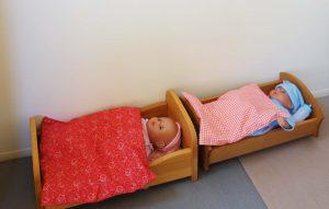 人形用ベッド 椙山こども園