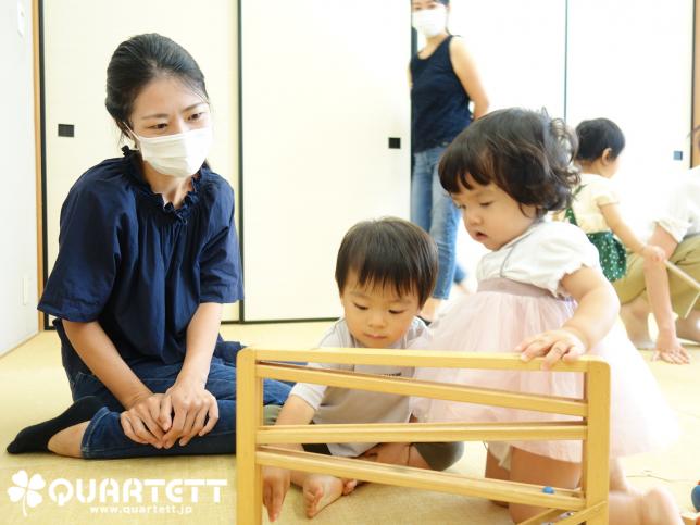 カルテット幼児教室_シロフォン付き玉の塔