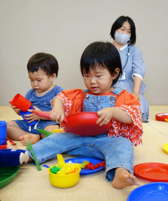 カルテット幼児教室_ままごと